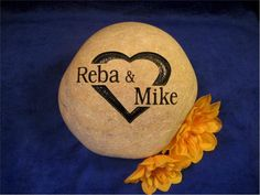 Pin by rock it creations on personalized wedding anniversary stones