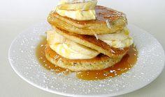 Six in the Suburbs: Coconut Flour Pancakes (gluten + grain free)