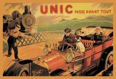 Unic Racing Across Train Tracks http://www.walls360.com/automobiles-wall-graphics-s/1918.htm