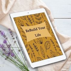The Re-Build Your Life Planner is 138 pages and includes a Monthly Goals Page, Weekly Accomplishments Page, Notes Pages, Doodle Pages and gorgeous looking Monthly Dividers.  Plus we have added some super ecover graphics that you can use if you wish.