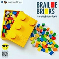 #Repost @maecomfilhos (por @samegui)   Sabem que aqui no @maecomfilhos temos muitos legomaniacos né? E mães que gostam de ações de ações sociais também. Então junte os dois e avalie como nos encanta! A Lew'Lara\TBWA criou um alfabeto em Braille desenvolvido a partir de peças clássicas de blocos de montar isso ajuda a alfabetização de um jeito mais lúdico. Como o Braille Bricks não está acessível para as crianças com deficiência visual do Brasil e do mundo o projeto estará disponível de forma…