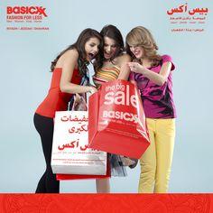 Happy Weekend ☺ Happy Friday ☺ Happiness = Shopping, Shopping and more Shopping at the Big Basicxx SALE ☺ Find Basicxx in #Riyadh #Jeddah #Dhahran #KSA #happyshopper #ootd  #Basicxx #Basicxxfashion