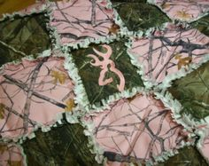 camouflage rag quilt | Sorry, this item sold. Have Stitchesbysteph make something just for ...