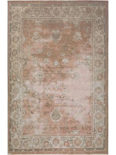 Rugs of the benuta collection FRENCIE enchant you right away with a trendy vintage design. Their surface looks like it has aged naturally due to a used-look effect, which gives the rugs an authentic, antique look. Shabby, Rugs Online, Vintage Designs, Latex, Modern, Flooring, Antiques, Green, Home Decor
