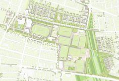 1st Prize category After revision: städtebauliches und freiräumliches Gesamtkonzept, © MESS GbR / urbane gestalt / SHP Ingenieure