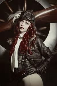 Image result for Steampunk Pinup Girls