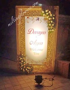Contact us For Decorating Your Wedding Or Across South India. Best Wedding Venues, Wedding Locations, Wedding Trends, Wedding Tips, Wedding Entrance, Entrance Decor, Wedding Reception, Board Decoration, Marriage Decoration