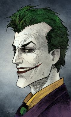 One of my favorite villain's because The Joker is a mysterious person nobody knows his true back story on how he became the man that he is yea everybody says he was dropped into a tank of chemicals and that's how he became who he was, but that is not what made him go crazy. So many different back stories to The Joker but which one is the real one.