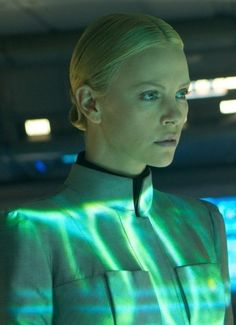 """Charlize Theron in """"Prometheus"""" (2012). DIRECTOR: Ridley Scott."""