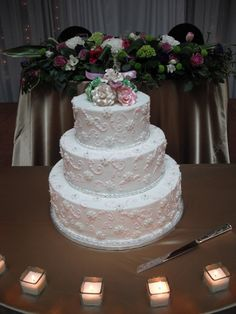 Wedding cake table - no decorations