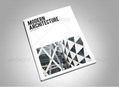 modern architecture magazine template