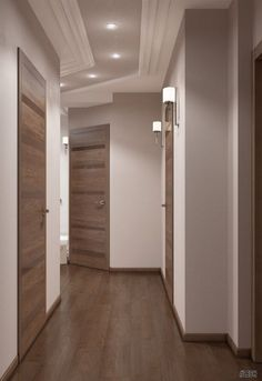 Awesome 30 Astonishing Home Corridor Design For Your Home Inspiration House Ceiling Design, Home Ceiling, House Design, House Paint Interior, Interior Design Living Room, Living Room Designs, Room Interior, Hallway Designs, Hallway Ideas