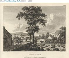 The town in the eighteenth century, Paul Sandby RA