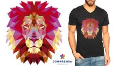 Who wants to wear the Lion T-shirt, full of colour ?   #fashion #model #photooftheday #color #beautiful #comprensa #clothes #portugal #team #love #work #making #ourdesign #shine #style #attitude #fashionable #create #fashionvictim #barcelos #lion #photoprint #fashionoftheday