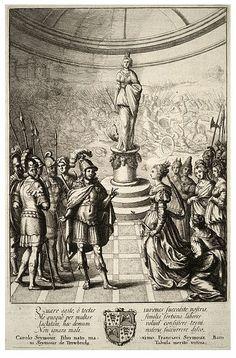 Wenceslas Hollar - Dido and Aeneas