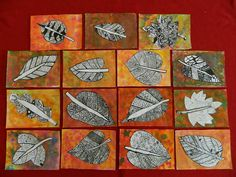The result of the picture for summer art education - Education Fall Art Projects, School Art Projects, Fall Arts And Crafts, 2nd Grade Art, Doodle Art Drawing, Middle School Art, Art Lessons Elementary, Autumn Art, Leaf Art