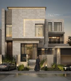 Amazing House Design Ideas For 2020 - Engineering Discoveries Best Modern House Design, Modern Exterior House Designs, Modern House Facades, Modern Villa Design, Bungalow House Design, House Front Design, Dream House Exterior, Cool House Designs, Home Modern