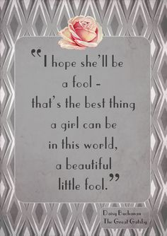 Typography Quotes - i wish it were the whole quote though. Its my favorite from the Great Gatsby