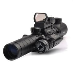 Tactical Scope Combo Riflescope with Long Range Red Dot Laser and Holographic Reflex Sight for Rifle and Airsoft - Tactical Survival Tools Tactical Survival, Survival Tools, Tactical Scopes, Daniel Defense, Glock Guns, Rifle Accessories, Vision Glasses, Fishing Outfits, Rifle Scope
