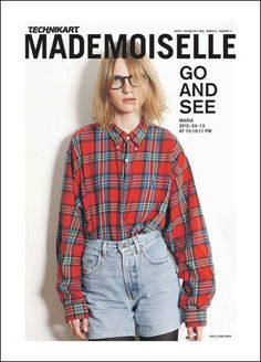 Technikart Mademoiselle N°27 - The Go and See Issue. Printemps 2012 - Photo : Tobias Zarius