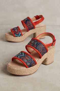 e5a453163ce Slide View: 1: Vanessa Wu Espadrille Heels Cute Sandals, Flat Sandals, Shoes