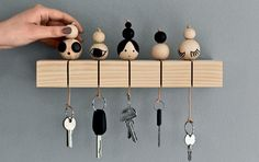 19 Diy Key Holder ideas, the most adorable ideas - Diy & Decor Selections