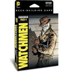 DC COMICS - DECK BUILDING GAME: WATCHMEN, CROSSOVER PACK