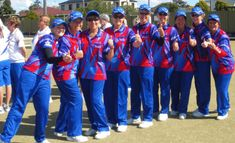 Australian made Lawn Bowls Clothes by the Sports Factory. Supplying licensed Lawn Bowls Attire to Clubs & Schools since Uniform Design, Sport Outfits, Bowls, Club, Park, Sports, How To Make, Clothes, Women
