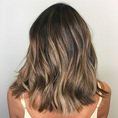 Brunette Balayage Hair Short, Brunette Hair Chocolate Caramel Balayage, Hair Color For Morena, Birthday Hair, Hair Brained, Hair Highlights, Hair Day, Pretty Hairstyles, Hair Inspiration