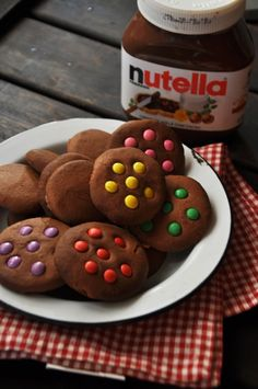 Cookie de Nutella com três ingredientes