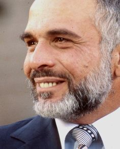 His Majesty the late King Hussein of Jordan