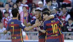 Granada CF v FC Barcelona - La Liga - Pictures
