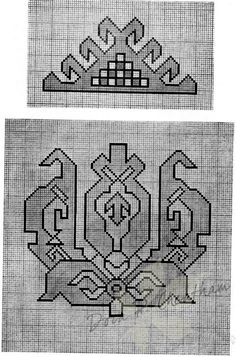 ru / Фото - Persian Rug Motifs for Needlepoint - Gallery.ru / Фото - Persian Rug Motifs for Needlepoint - Persian Pattern, Persian Motifs, Persian Rug, Embroidery Patterns, Cross Stitch Patterns, Quilt Patterns, Cross Stitching, Cross Stitch Embroidery, Tapete Floral