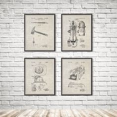 Firefighter Gift, Firefighter Poster, Firefighter Wall Art, Firefighter Art, Firefighters, Fireman Art, Fireman Wall Art, Fireman Gift, Patent Print, Firefighter Decor, Firefighter Sign, Firefighter Baby, Firefighter Wife