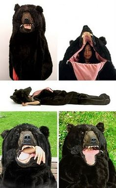 Bear Sleeping Bag!