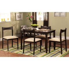 TMS Scott 5 Piece Dining Set