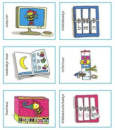 Planbordkaartjes Veilig Leren Lezen