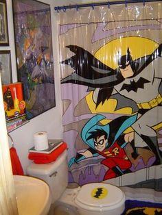 1000 images about batman bathroom on pinterest batman for Batman bathroom ideas
