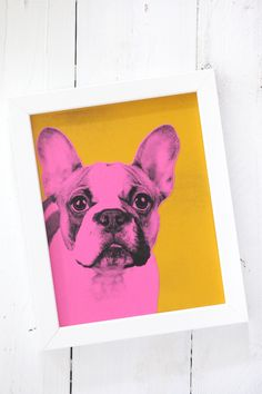 How to make pop art pet portraits.