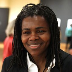 """Tracy Chapman is an American singer-songwriter, known for her singles """"Fast Car"""", """"Talkin' 'bout a Revolution"""", """"Baby Can I Hold You"""", """"Crossroads"""", """"Give Me One Reason"""" and """"Telling Stories"""".  And she's on FB!"""