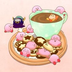 Let's all agree. Kirby is meant to eat, not be eaten