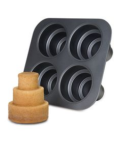 cool tiered cake pan on zulily today!