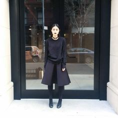How To Create A Work Uniform #refinery29  http://www.refinery29.uk/work-uniform-lydia-pang-style-tips#slide-7  The one in one out ruleThis is a recent practice for me; I used to BUY BUY BUY and then the capsule wardrobe became a thing and in an attempt to instil mindfulness into my life, I adopted the brutal ONE IN ONE OUT rule. If I buy something new; something else has to go! It stops me buying random crap with a novelty tassel that I'm never going to wear and it also means you k...