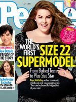 Plus-Size Model Tess Holliday Covers People Magazine #refinery29