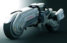 Concept: Honda Chopper by Peter Norris