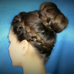 Crown double braid.. Hairstyle inspiration!