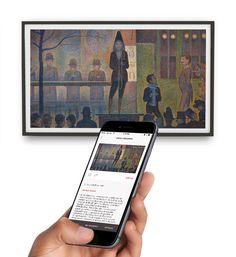With the Depict Frame, you can bring the first museum quality digital canvas home, and the Depict app brings a world of art to your fingertips.