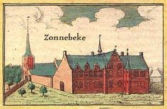 de Augustijner-abdij van Zonnebeke