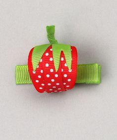 strawberry... sweet treat bows