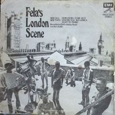 Fela Ransome-Kuti And His Africa '70 - Fela's London Scene (back cover, but worth including, I thought)
